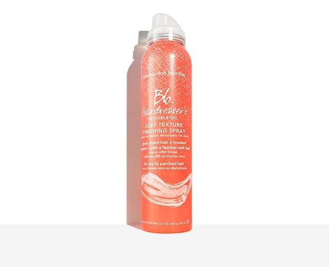 Hairdresser's Invisible Oil Soft Texture Finishing Spray
